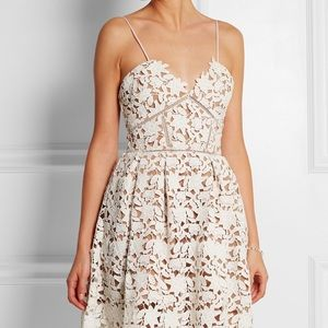 Dresses & Skirts - Self Portrait style Azalea Lace Floral Midi Dress